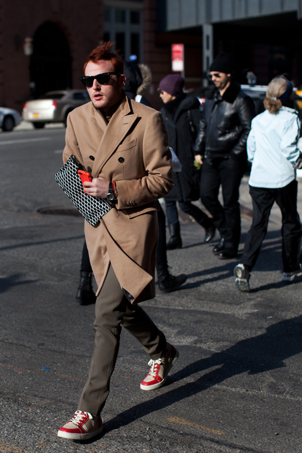 camel coat the sartorialist