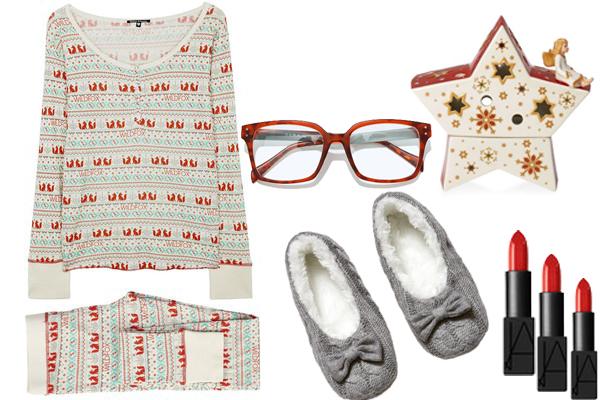 пижама Wildfox домашние тапки hm очки zara