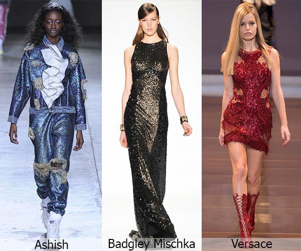 Ashish, Badgley Mischka, Versace