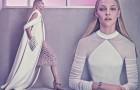 Саша Пивоварова в рекламной фотосессии Balenciaga