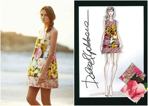 Dolce&Gabbana for NET-A-PORTER.COM summer 2015- Sketch (4)