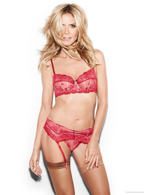 Heidi Klum lingerie 2