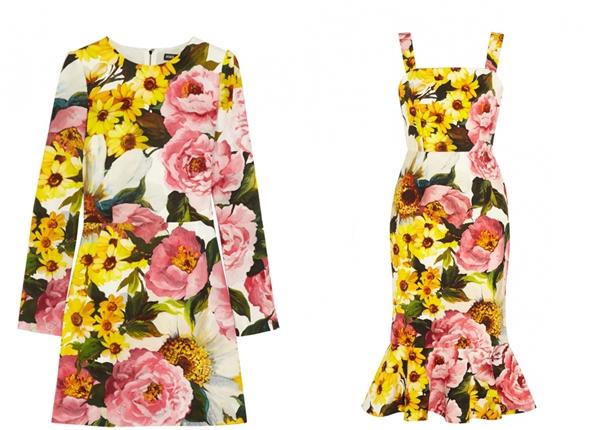NET-A-PORTER.COM-Exclusive Dolce & Gabanna-Summer 2015-Dress-1