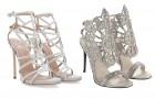 Культовые дизайнеры представили свадебные модели обуви