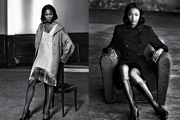 Naomi Campbell for Prada AW 1994