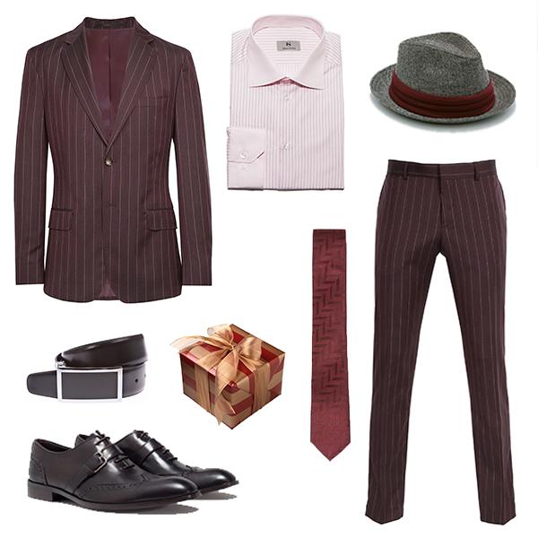 Baltman костюм, Monton ремень, Albert Ström рубашка, Zara туфли, галстук и шляпа