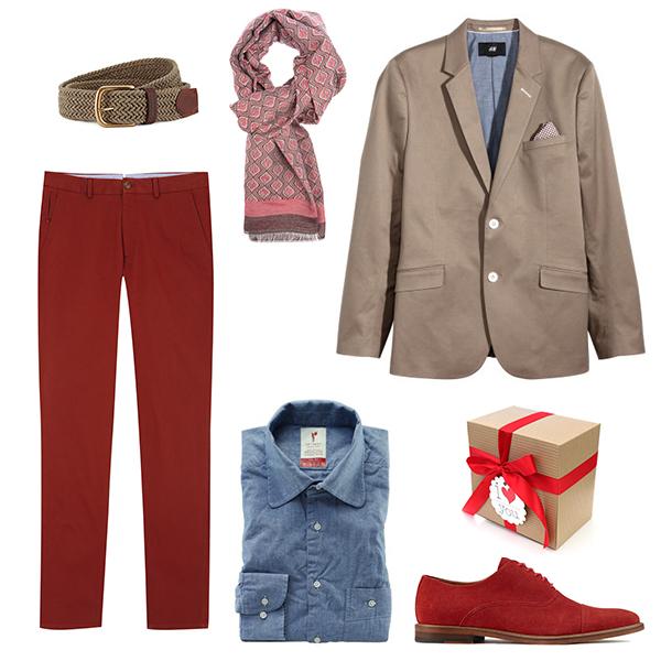 H&M блейзер, Massimo Dutti брюки, Aldo туфли, Sangar рубашка, Baltman шарф, Marks&Spencer ремень