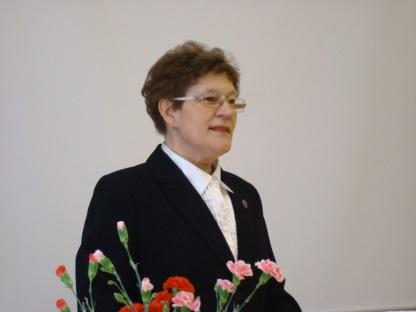 Лектор проф. Любовь Киселева