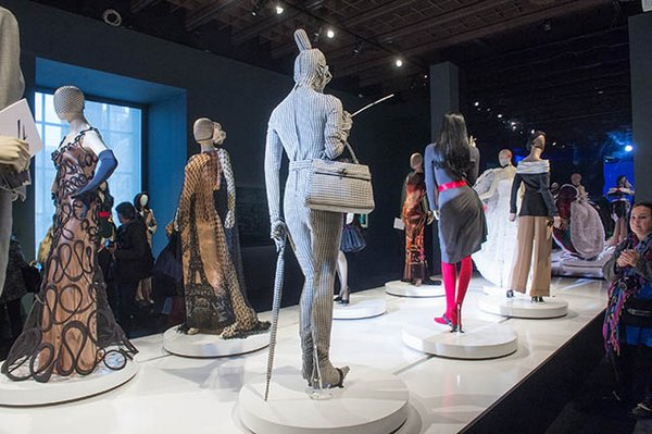 'Jean Paul Gaultier' Exhibition : Press Preview At Grand Palais