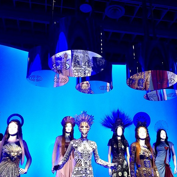 Jean Paul Gaultier retrospective in Paris