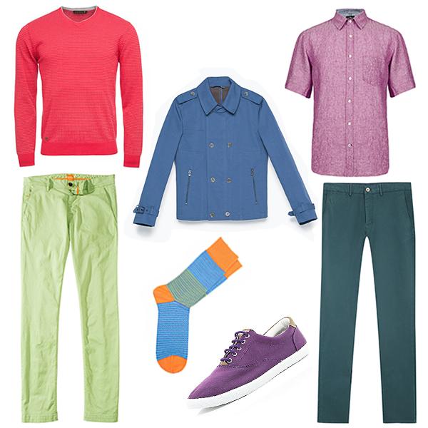 Monton свитер, Massimo Dutti брюки, Marks&Spencer рубашка, River Island кеды, Hugo Boss брюки-чинос, Zara куртка