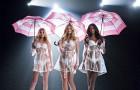 Ангелы с зонтиками в сексуальной кампании Victoria's Secret