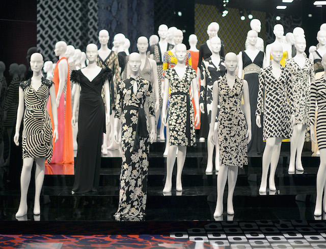 Diane Von Furstenberg's Journey Of A Dress Exhibition Opening Celebration - Inside
