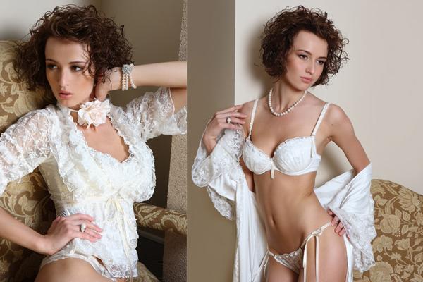 Scarlett является бестселлером среди cвадебных коллекций. Молочный цвет и кружева полностью создают романтичный вид