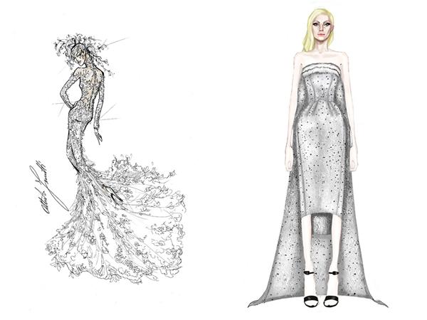 Alberta Ferretti и Alexander Wang for Balenciaga