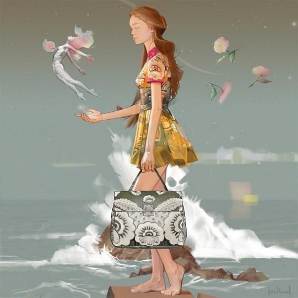 Valentino Mime illustration 2