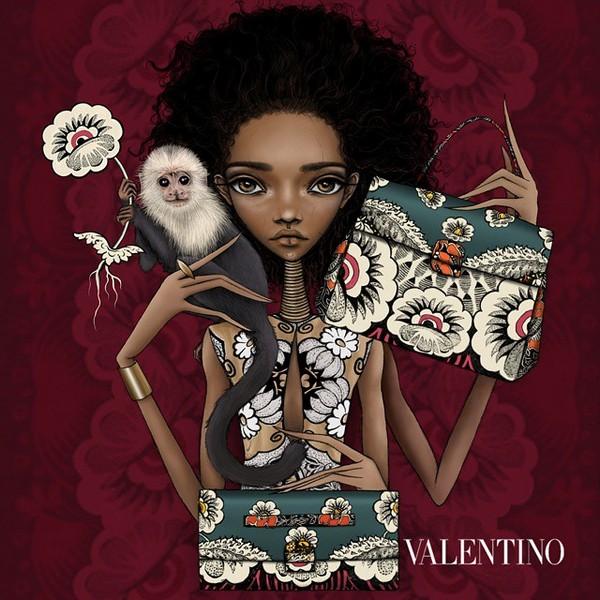 Valentino Mime illustration 3