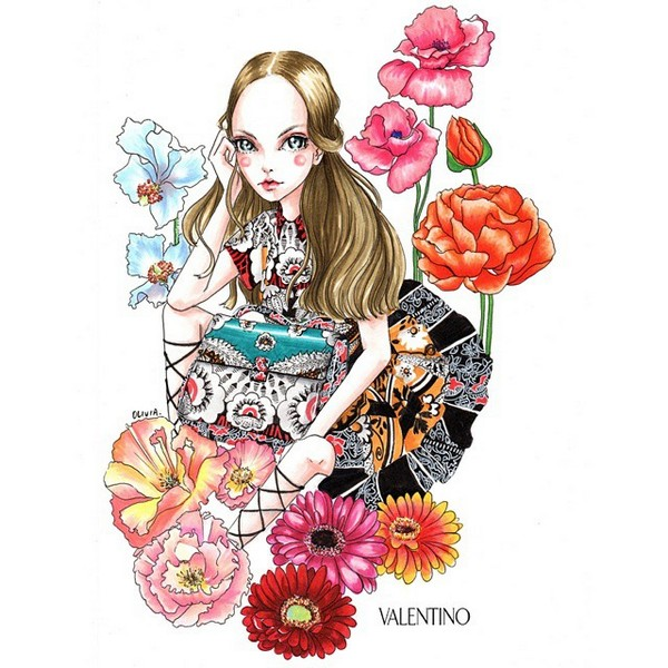 Valentino Mime illustration 6