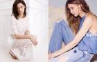 Белый & деним в лукбуке Zara