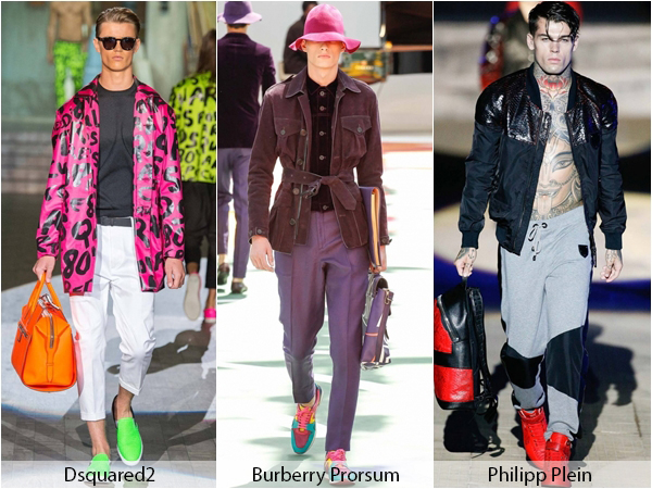 Обувь и аксессуары Dsquared2, Burberry Prorsum, Philipp Plein