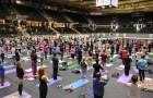 Как прошел 1-ый Международный день йоги в Таллинне