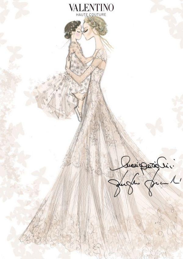 Frida Giannini wedding dress Valentino 1