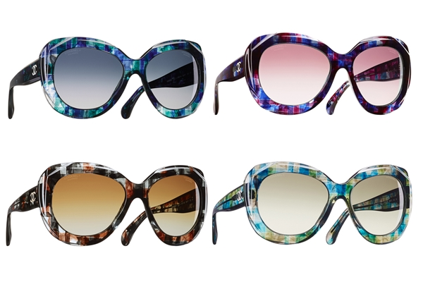 Chanel Tweed Eyewear Collection 1