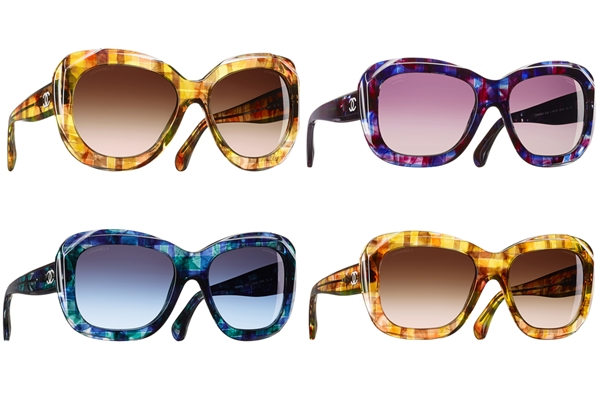 Chanel Tweed Eyewear Collection 2