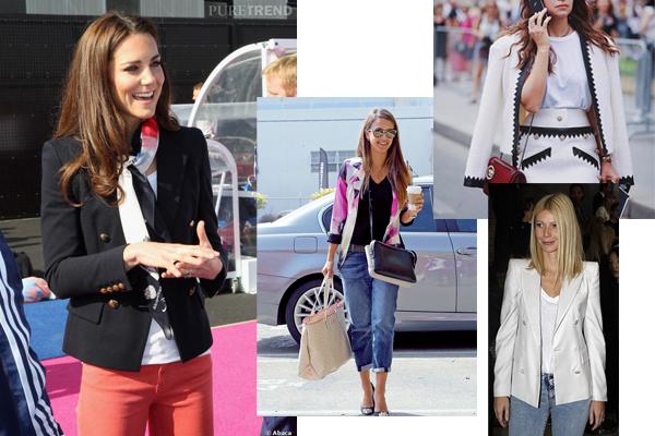 celebrietis wear blazers