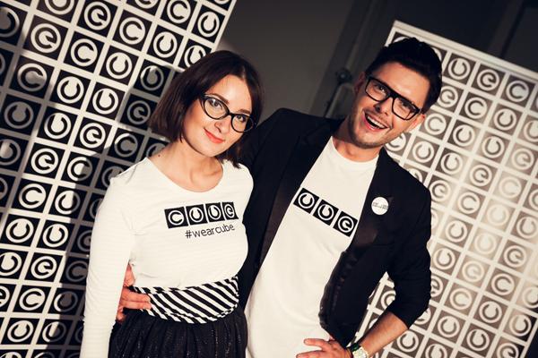 Светлана и Анатолий  на дебютном показе CUBE Фото:  Максим Тооме