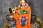 Moschino посвятили коллекцию Super Mario