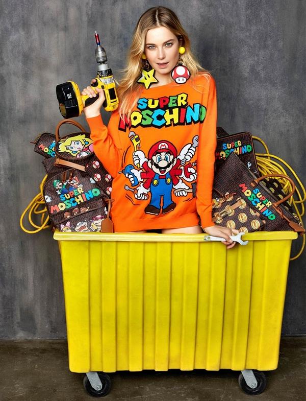 Moschino Super Mario