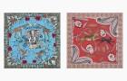 Все на сафари: шелковые платки Hermès с экзотическими принтами