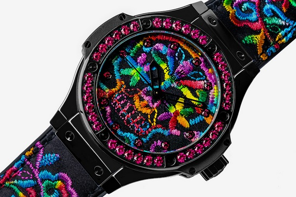 Hublot Big Bang Broderie Sugar Skull 2