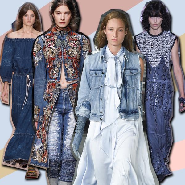 Королева+денима+(Chloe,+Alexander+McQueen,+MM6+Maison+Margiela,+Louis+Vuitton)