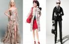 Выставка кутюрных Barbie в нарядах известных модных Домов