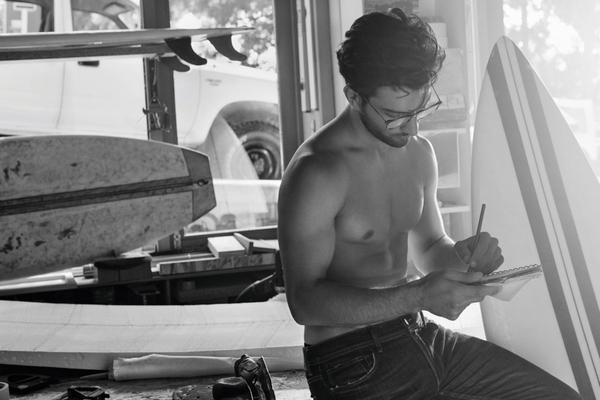 Caner Yildirim for Giorgio Armani Frames of Life 2016 Campaign.