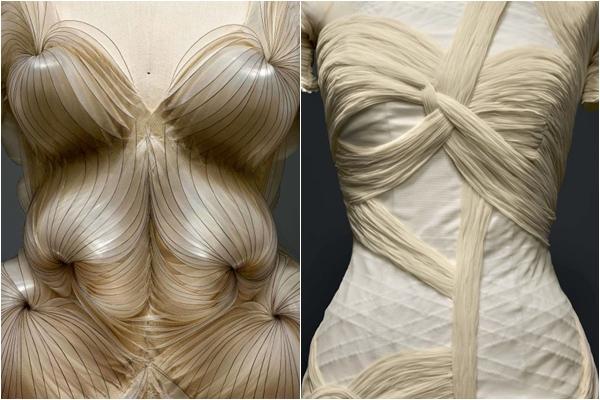 Iris van Herpen, Nicolas Ghesquiere for Balenciaga