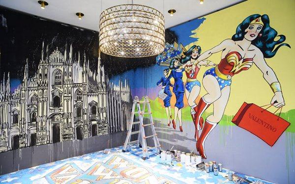 Valentino-installation-milan-inside