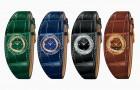 Новые часы Hermès на браслете из кожи аллигатора