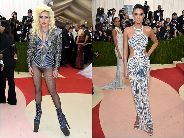 Леди+Гага+и+Кендалл+Дженнер+в+Atelier+Versace
