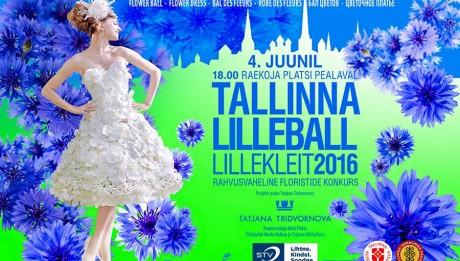 таллинской бал цветов