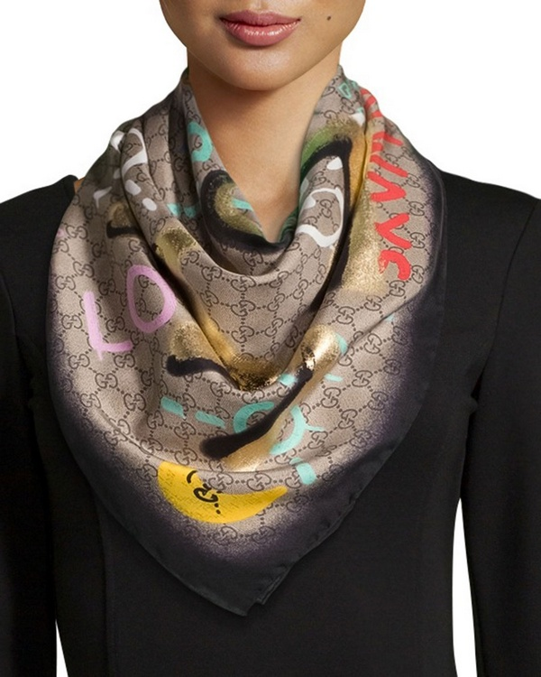 Gucci-GucciGhost-Life-is-Gucci-Square-Silk-Scarf