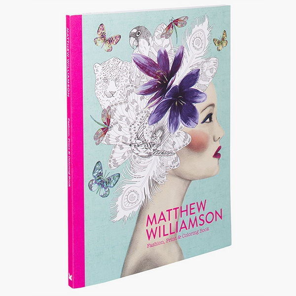 Williamson Fashion, Print & Colouring Book 1