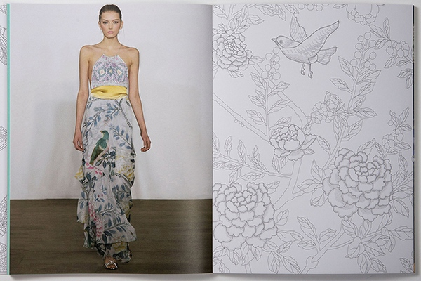 Williamson Fashion, Print & Colouring Book 11