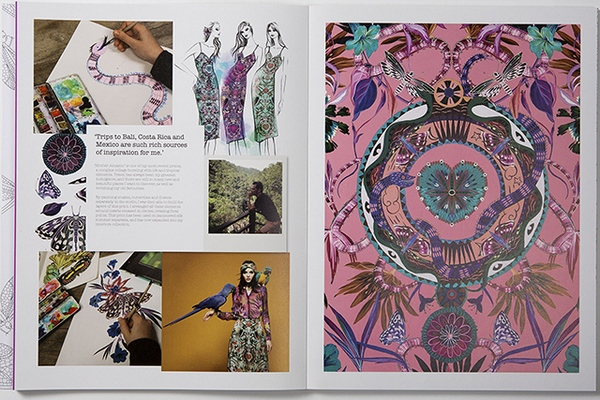 Williamson Fashion, Print & Colouring Book 12
