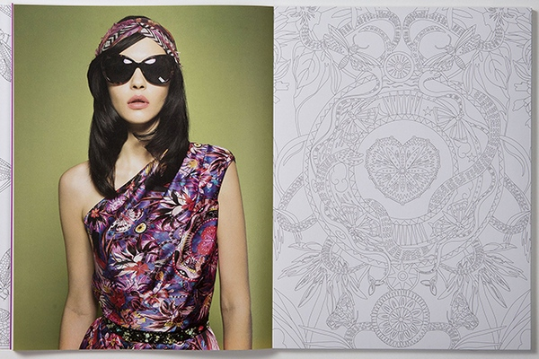Williamson Fashion, Print & Colouring Book 7