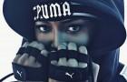 Наоми Кэмпбелл в кампании дебютной коллекции Рианны Fenty x Puma