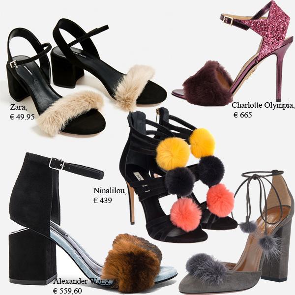 модная обувь мехом наружу