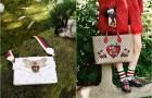 Райская экзотика в рождественской кампании Gucci